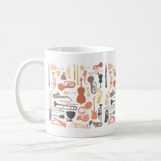 Musik-Instrumente Kaffeetasse