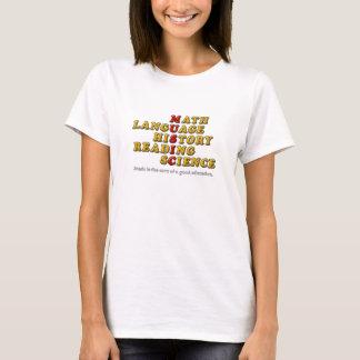 Musik ist der Kern einer guten Bildung T-Shirt
