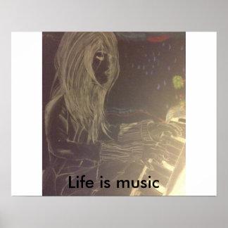 Musik ist Leben Poster
