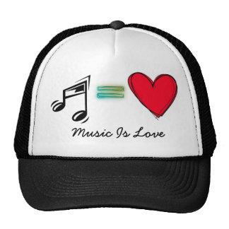 Musik ist Liebe Retrokult Cap