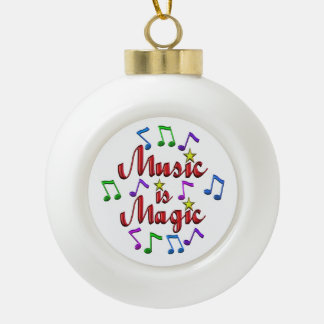 Musik ist magisch keramik Kugel-Ornament