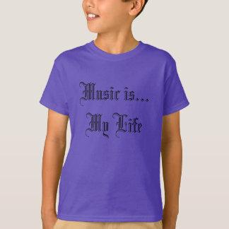 Musik ist mein Leben-T - Shirt