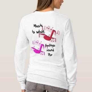 Musik klingt wie T-Shirt