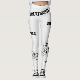 """""""Musik-"""" Komfort-Gamaschen Leggings"""