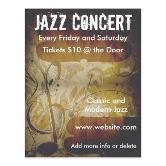 Musik-Konzert-Musik-Anmerkungs-Flyer