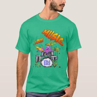 Musik-Kraken-Mann-Dunkelheits-T - Shirt