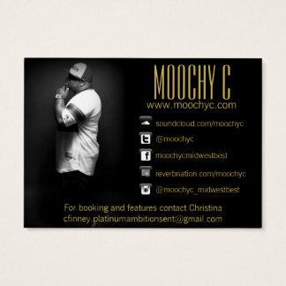 Musik-Künstler-Visitenkarte Jumbo-Visitenkarten
