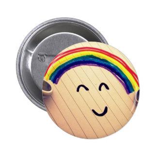 Musik-Lächeln Runder Button 5,1 Cm