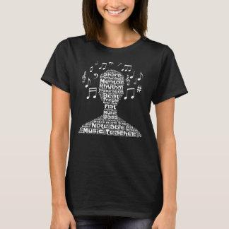 Musik-Lehrer-Anerkennung T-Shirt