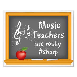 Musik-Lehrer sind wirklich # Scharfes Photodrucke