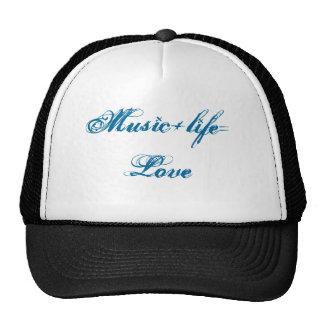 Musik+life=Love Truckermützen