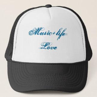 Musik+life=Love Truckerkappe