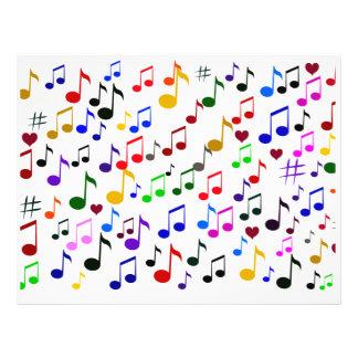 Musik Love_Flyer 21,6 X 27,9 Cm Flyer