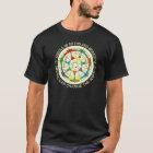 Musik-Modus-Diagramm und Kreis von Fünfteln T-Shirt