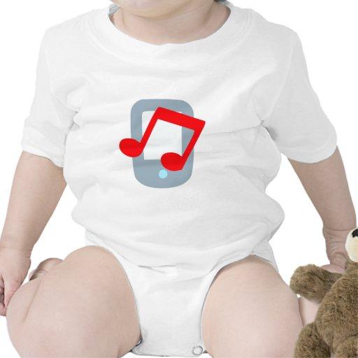 Musik mp3 music player baby strampler