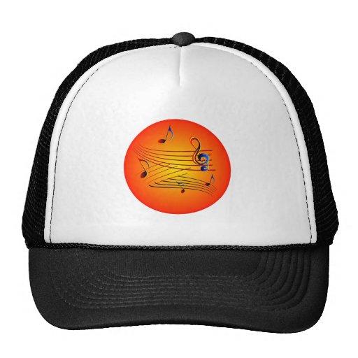 Musik music trucker cap