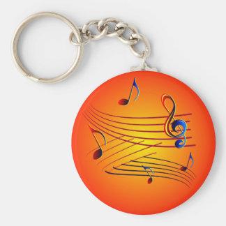 Musik music schlüsselbänder