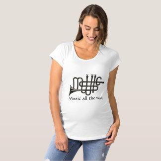 Musik-Mutterschafts-T - Shirt