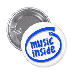 Musik nach innen anstecknadel