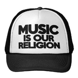 Musik-Religion Retrokultkappe