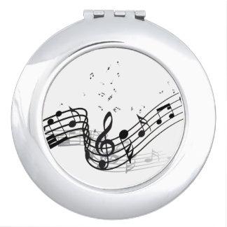 Musik Schminkspiegel