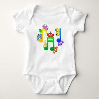 Musik-Spaß-Anmerkungen von Planetpeekaboo Babybody