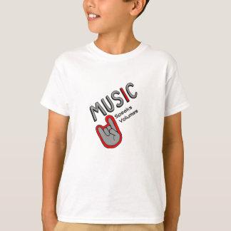 Musik spricht es Volumen T-Shirt
