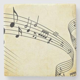 Musik Steinuntersetzer