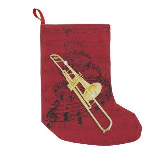 Musik-Strumpf des Trombone (Ventil) Kleiner Weihnachtsstrumpf