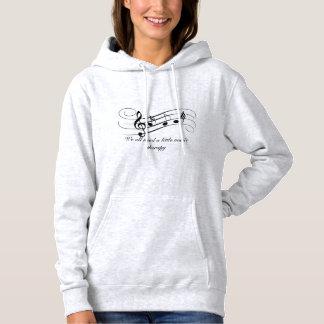 Musik therepy hoodie