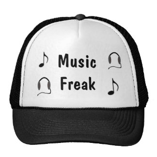 Musik-ungewöhnlicher Hut Netzmützen