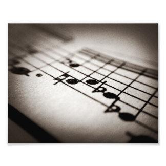 Musik, vergrößert photo