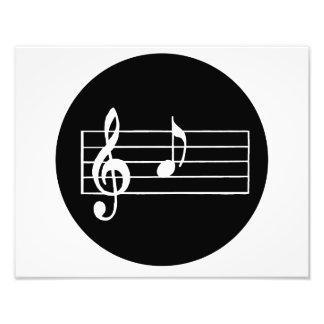 Musikalische Anmerkung A Foto