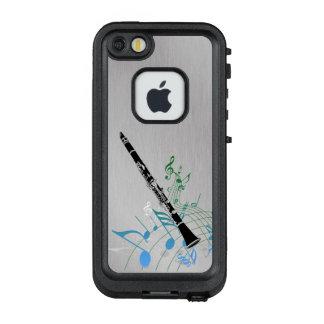 Musikalische Anmerkungen mit Clarinet LifeProof FRÄ' iPhone SE/5/5s Hülle