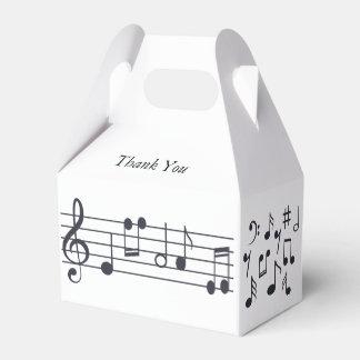 Musikalische Anmerkungs-Gastgeschenk-Kasten Geschenkschachtel