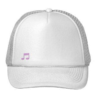 Musikalische Anmerkungs-Hut Kappen