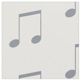 Musikalische Anmerkungs-Muster Stoff