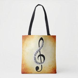 Musikalische Anmerkungs-Taschen-Tasche Tasche
