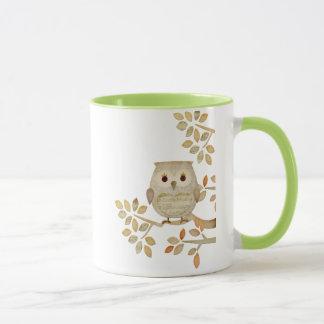 Musikalische Baum-Eulen-Tasse Tasse