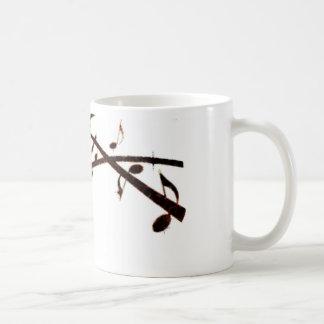 Musikalische Lava merkt Produkte Tasse