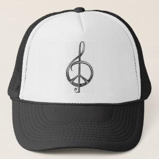 Musikalischer Frieden Truckerkappe