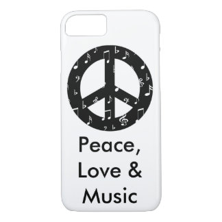 Musikalischer Friedenszeichen kaum dort iPhone 7 iPhone 7 Hülle