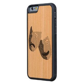 Musikalischer Telefon-Kasten Bumper iPhone 6 Hülle Kirsche