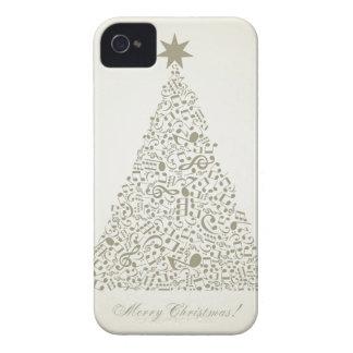 Musikalischer Weihnachtsbaum iPhone 4 Etuis