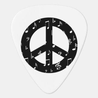 Musikalisches Friedenszeichen-Plektrum Plektrum