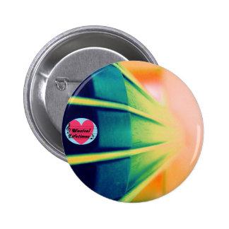 Musikalisches Lebenszeitencello-Button-Abzeichen Runder Button 5,7 Cm