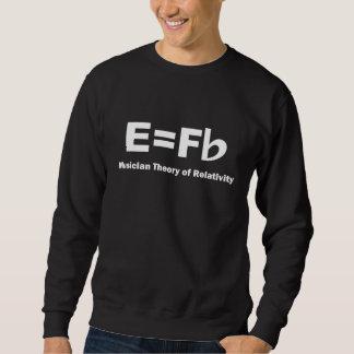 Musiker-Theorie des Relativitäts-Shirts Sweatshirt