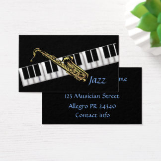 Musiker Visitenkarte