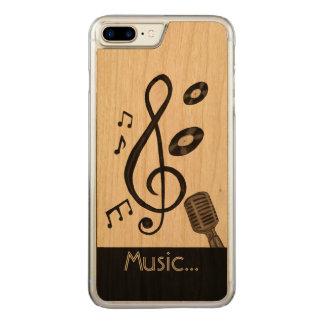 Musikfreund Carved iPhone 7 Plus Hülle