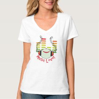 Musikfreund-Frauen Tshirt